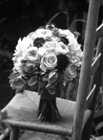 Oreonta house woodstock wedding bouquet close up