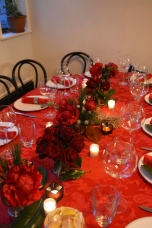 Tablescape for Christmas