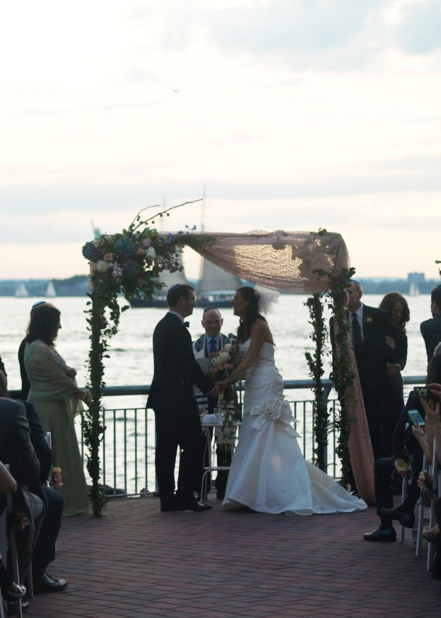 Liberty Warehouse Wedding Ceremony